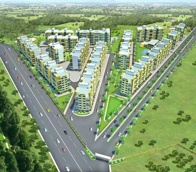 Happy Home Sarvoday Nagar - Project Images