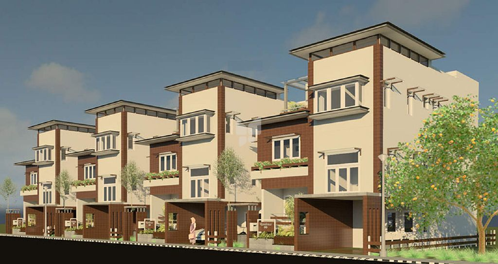 Sriram Urban Woods Signature Villas - Elevation Photo