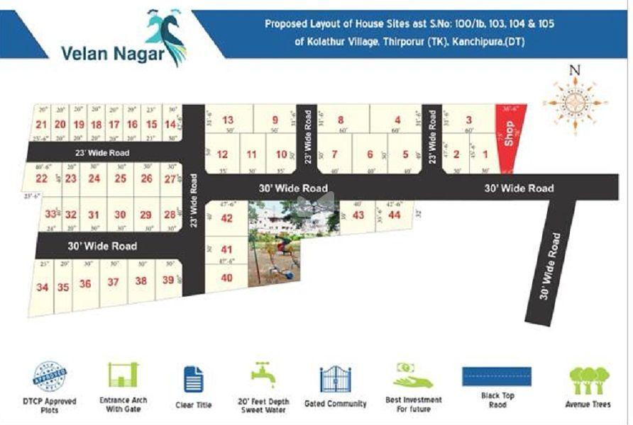 Vikaa Velan Avenue - Master Plan