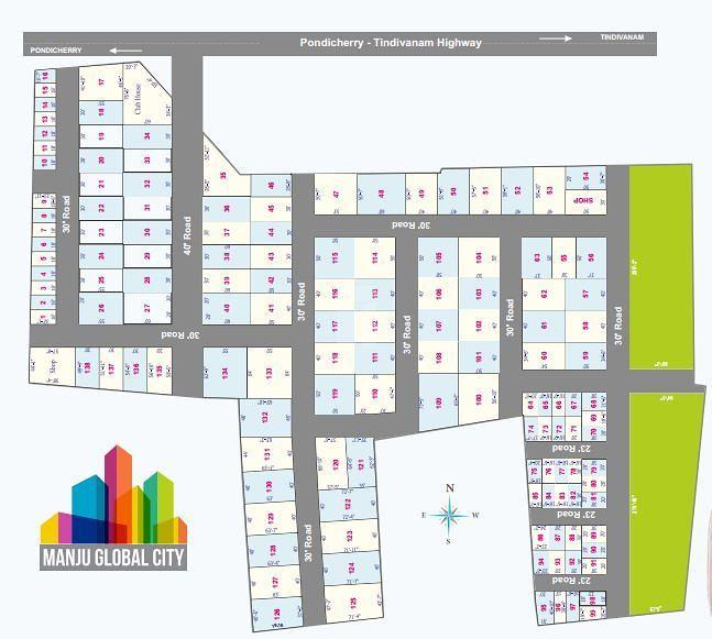 Manju Global City - Master Plans