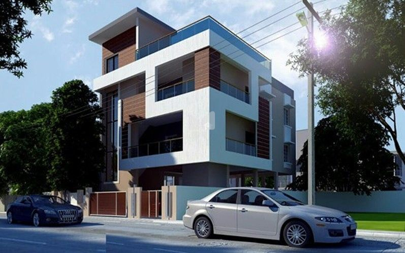 V N Vijayalakshmi Flat - Elevation Photo