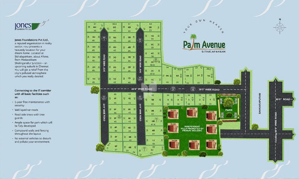Jones Palm Avenue - Master Plans