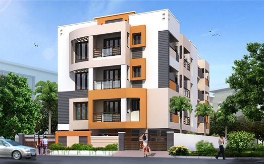 Maxis Pushpam - Elevation Photo