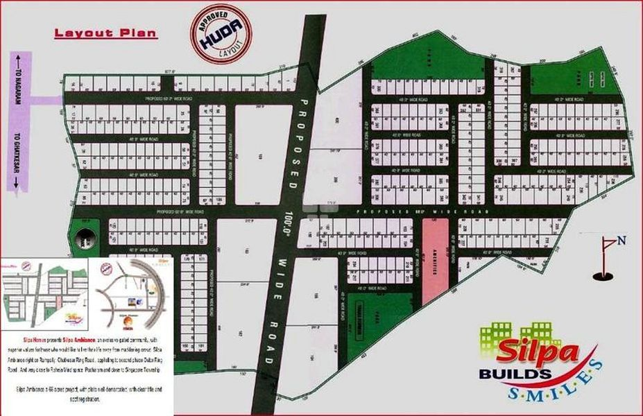 Silpa Ambience - Master Plan