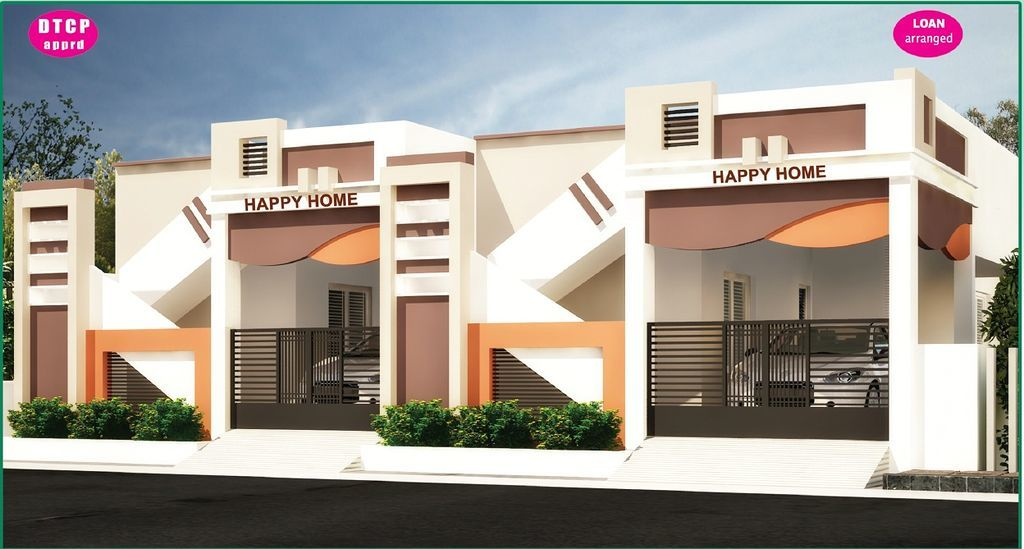 Happy Homes - Kannivakkam - Elevation Photo