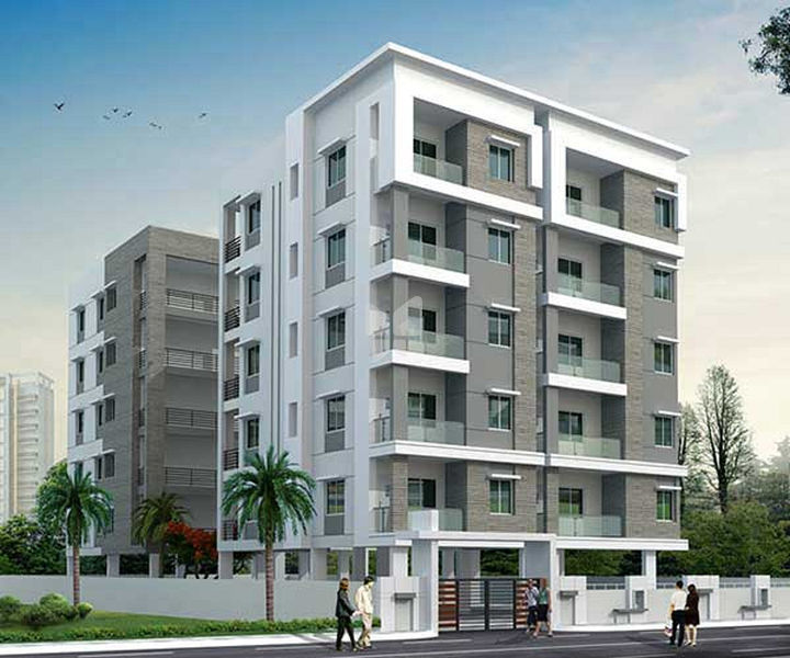 Rohini PRK Naganand Towers - Elevation Photo