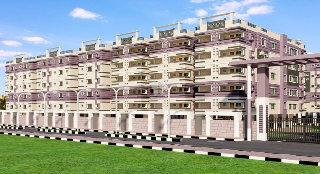 Amma Galaxy City Vasantha - Elevation Photo