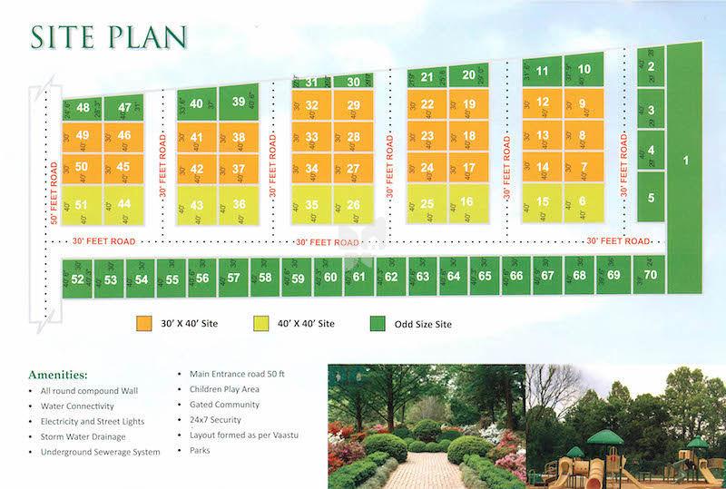 Solid Sai Gardens - Master Plans