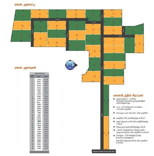 Sigaram CS Dates Valley - Master Plan