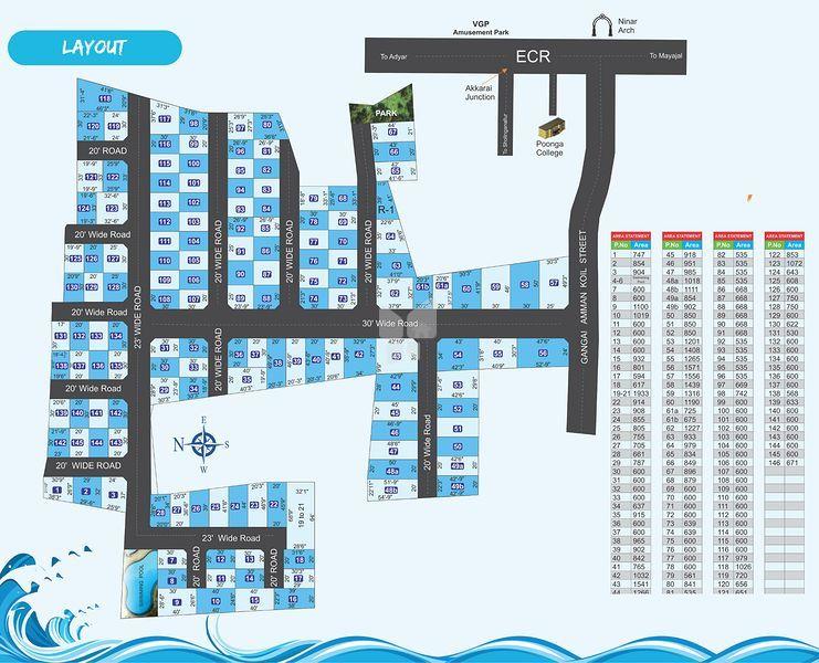 Manju Bingala Beach - Master Plan