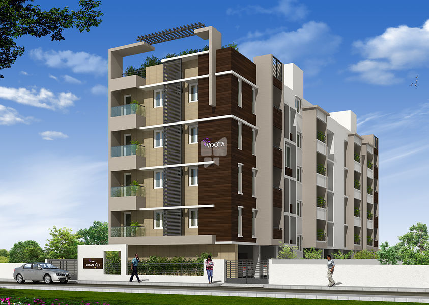 Voora gitanjali in t nagar chennai price floor plans for Apartment design and development ltd