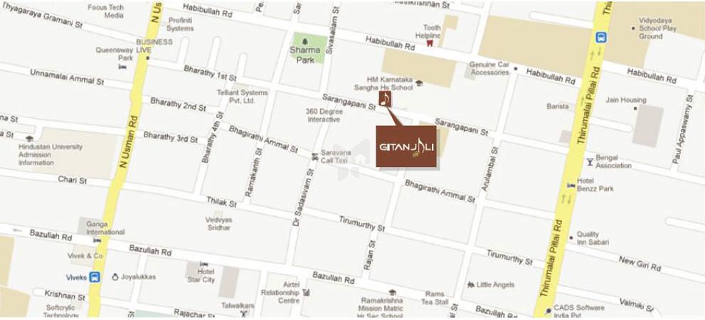 Voora Gitanjali In T Nagar Chennai Price Floor Plans