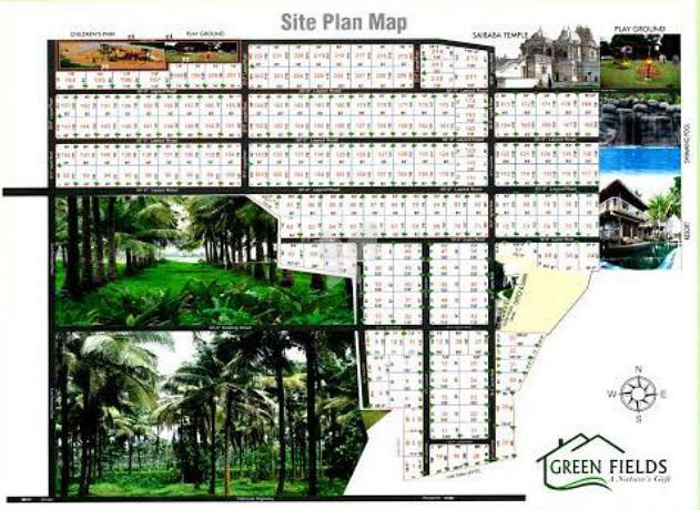 Greens Green Fields Farmhouse - Master Plan