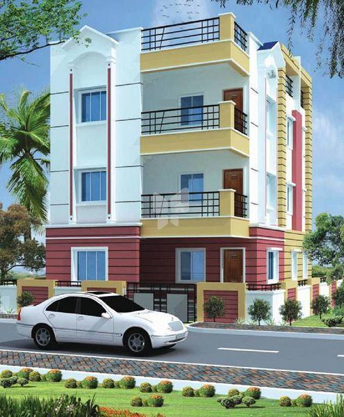 Vensha Estates Shantiniketan Apartment - Elevation Photo
