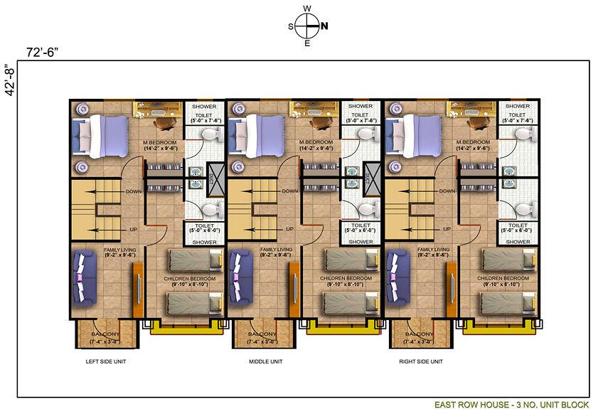 Row house design in the philippines joy studio design for Row housing plans