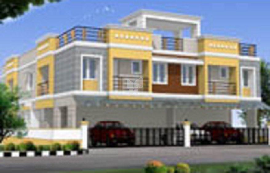 GK Adhinath Apartments - Elevation Photo