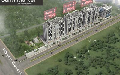 meghraj-spaces-sanvi-marvel-in-chakan-elevation-photo-1wsk