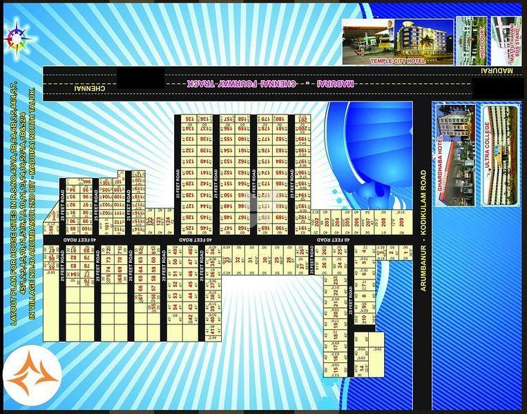 Jeme Sadhuragiri Nagar - Master Plans
