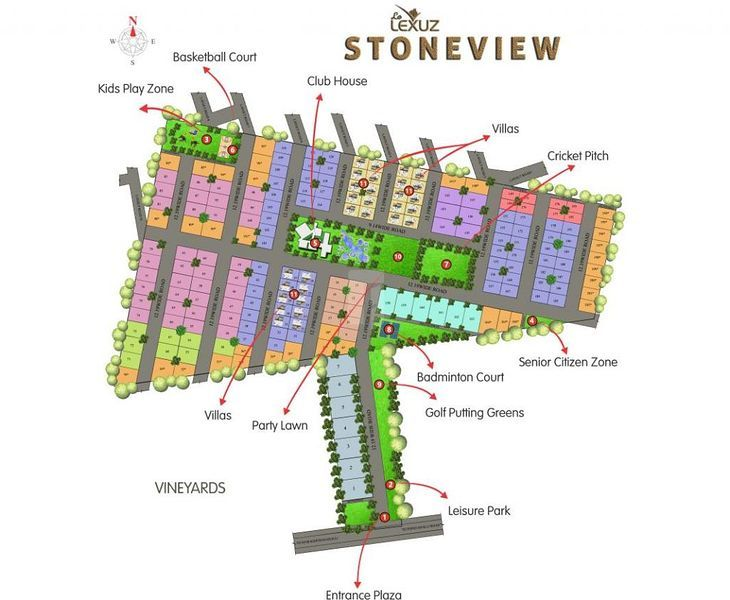 Le Lexuz Stoneview - Master Plans