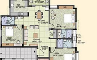 akshaya-trichy-rich-in-woraiyur-floor-plan-2d-gpu