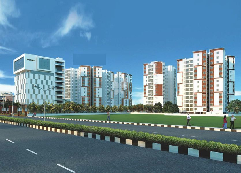 Akshaya tango compact homes in thoraipakkam chennai price floor plans photos at roofandfloor - Compact homes chennai ...