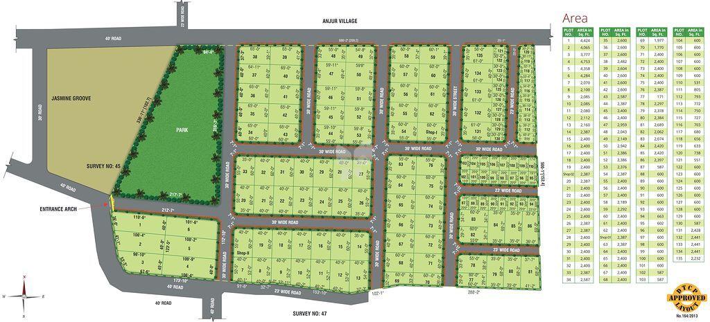 Avigna Eminence Hillside Avenue - Master Plans