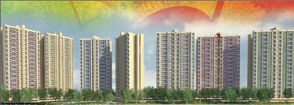 Magarpatta Nanded City Sargam - Elevation Photo