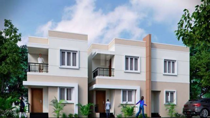 Shriram OneCity Regal Villas - Elevation Photo
