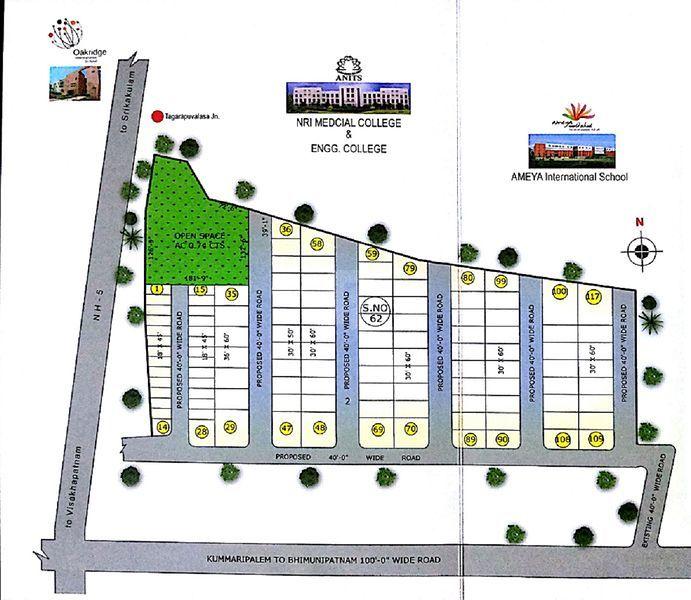 Sree Sai Garden - Master Plans