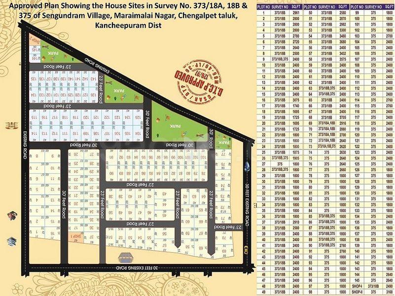 Aishwaryam Ford Avenue - Master Plan