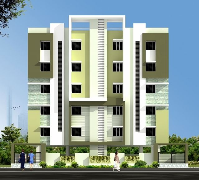 Olive west apartments in hafeezpet hyderabad price for Apartment plans hyderabad