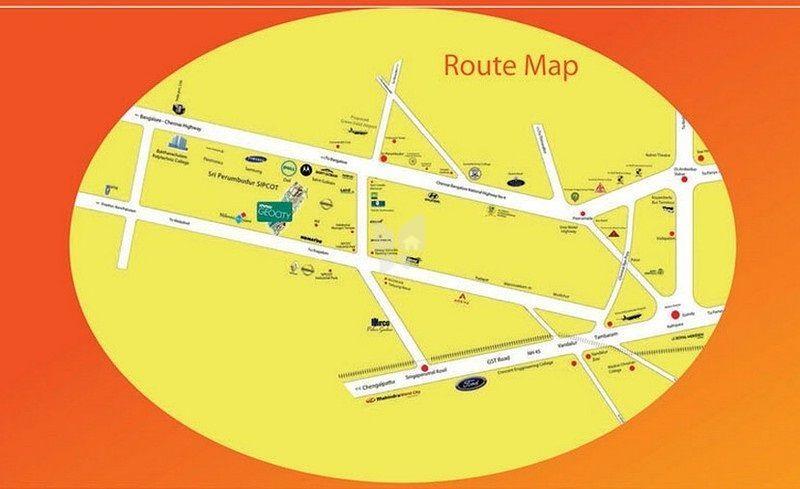 Inno Geocity Plots - Location Maps
