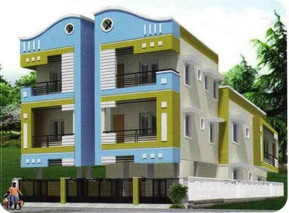 Sunflower homes in kolathur chennai price floor plans for Chennai home designs and plans