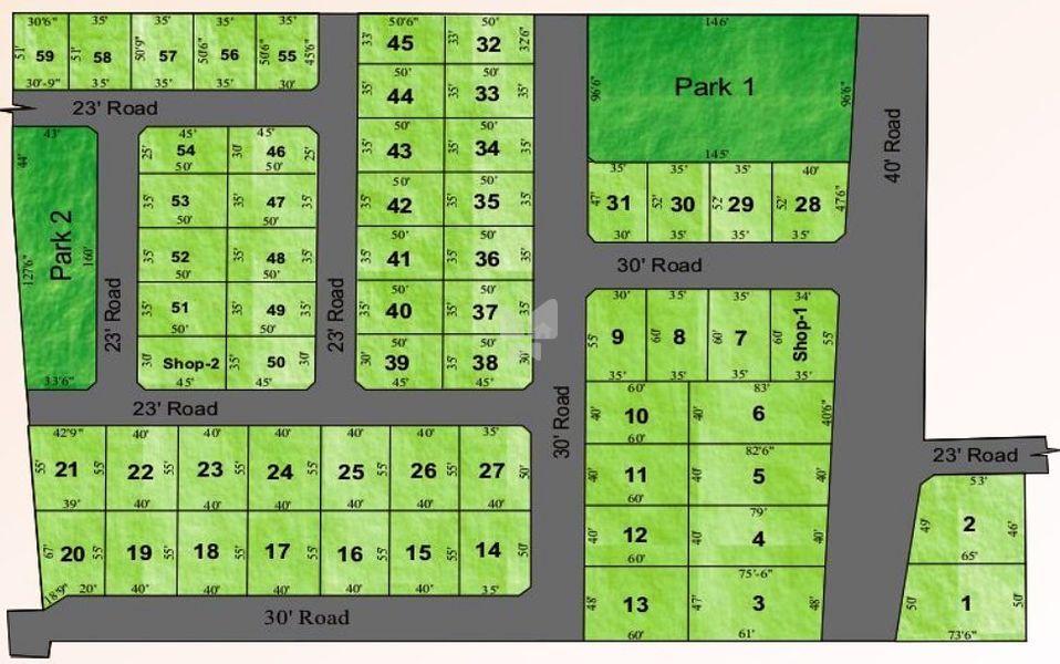 Hygrevar KS Gardens - Master Plans
