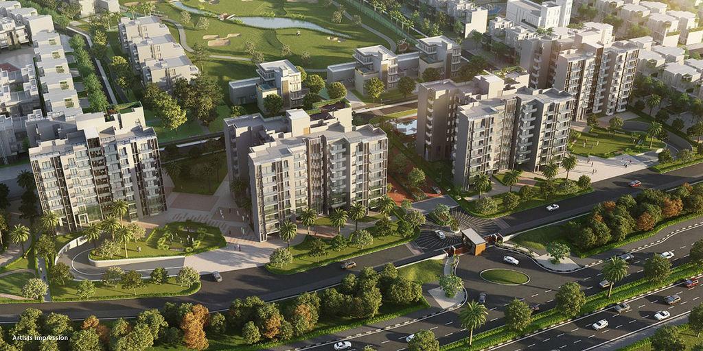 Godrej Windsor - Elevation Photo