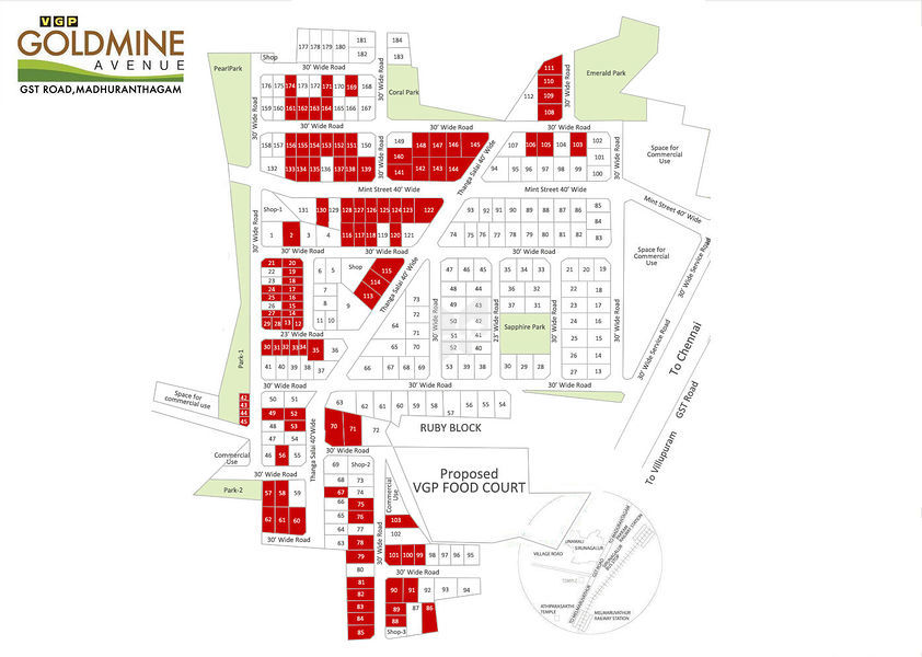 Goldmine Avenue - Master Plans