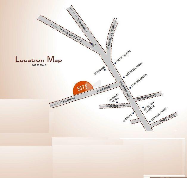Legend Blue Hope - Location Map
