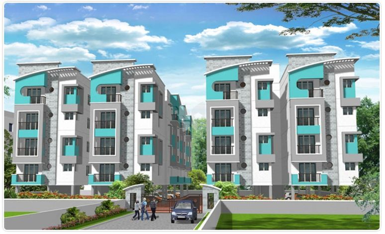Ganga Anandam Apartment - Elevation Photo