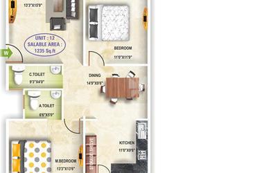 aditya-harmony-in-kanakapura-road-floor-plan-2d-hkh