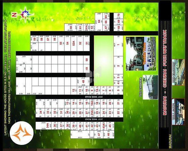 Jeme Balaji Nagar - Master Plans