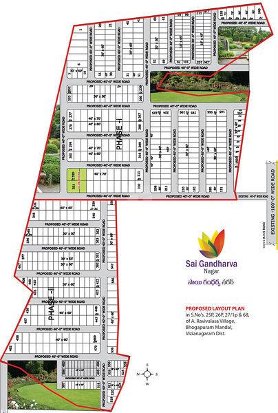 Sai Gandharva Nagar - Master Plan