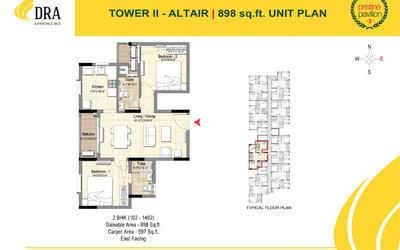 dra-pristine-pavilion-phase-iii-in-mahindra-city-floor-plan-2d-wta