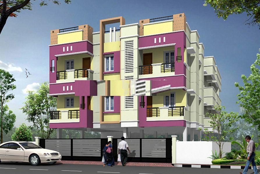 Bharathi Manish Apartment - Project Images