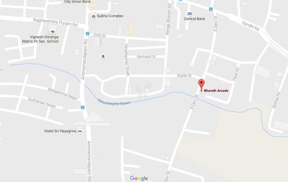 Bharath Arcade - Location Maps