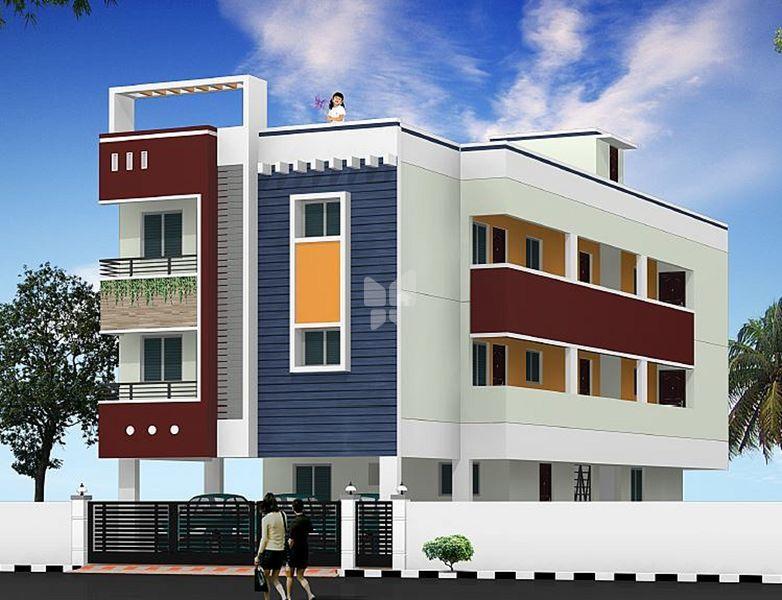 Deekay Homes Aishwaryam - Elevation Photo