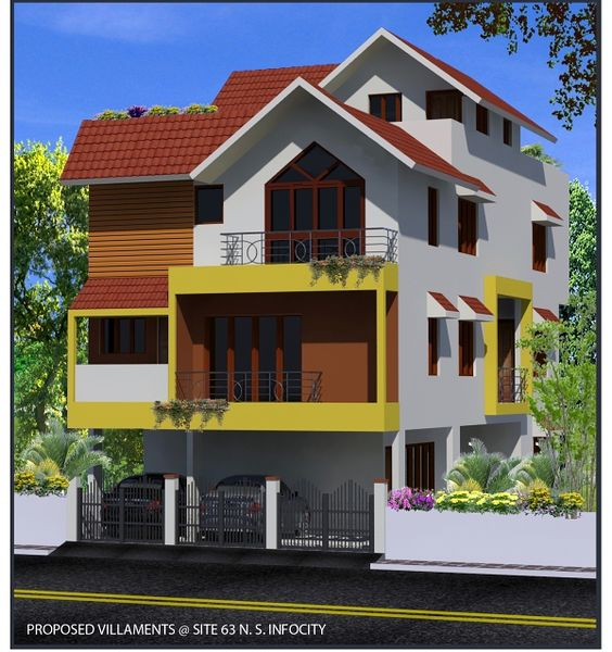 NS Infocity Casitas - Elevation Photo