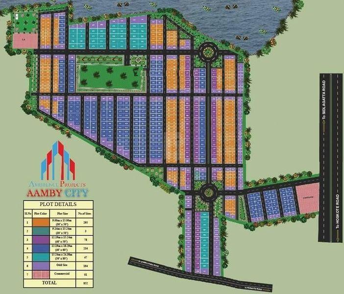 Perams Aditya Aamby City - Master Plans
