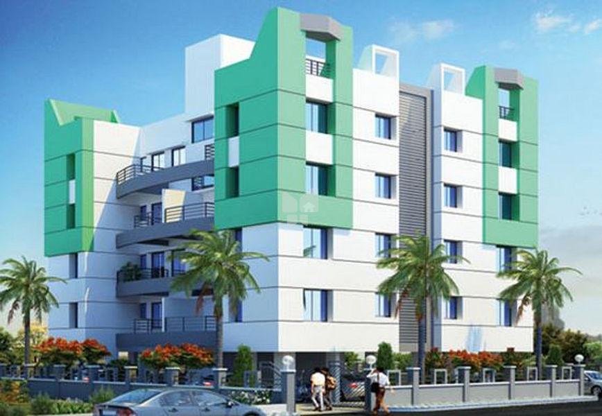 Pragati Lush Green Residency - Elevation Photo