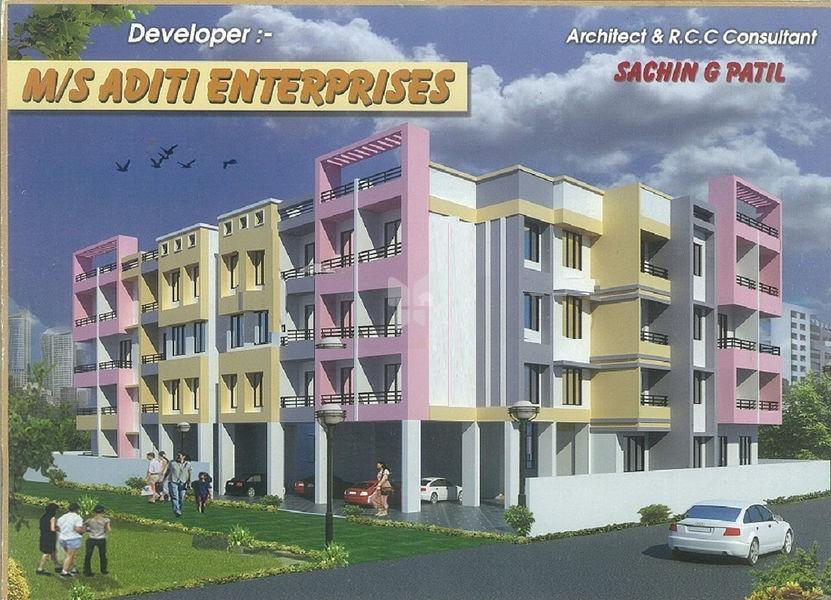 Aditi Pandurang Apartment - Project Images