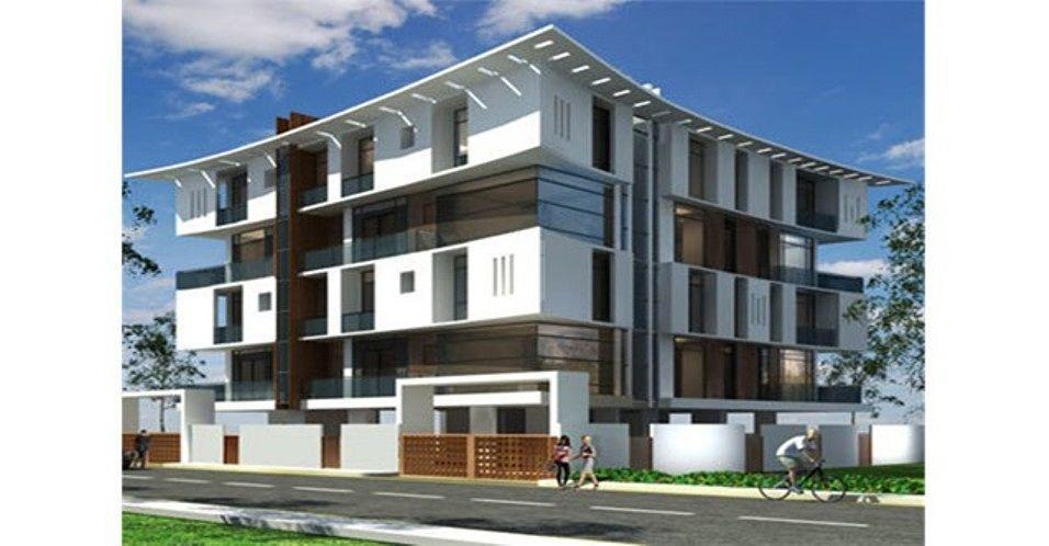 Ananyakrishnaa Lotus Apartment - Elevation Photo